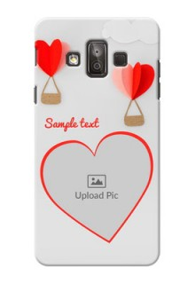 Samsung Galaxy J7 Duo Love Abstract Mobile Case Design