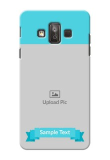 Samsung Galaxy J7 Duo Simple Mobile Back Cover Design
