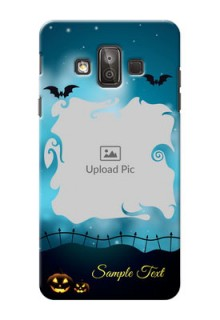 Samsung Galaxy J7 Duo halloween design with designer frame Design