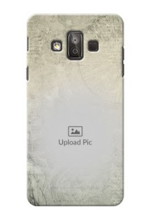 Samsung Galaxy J7 Duo vintage backdrop Design