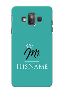 Galaxy J7 Duo Custom Phone Case Mr with Name