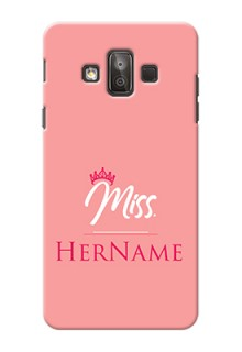 Galaxy J7 Duo Custom Phone Case Mrs with Name