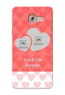 Samsung Galaxy J7 Max Couples Picture Upload Mobile Cover Design