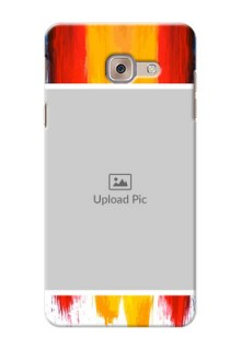 Samsung Galaxy J7 Max Colourful Mobile Cover Design