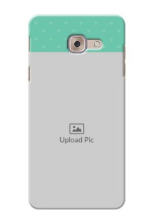 Samsung Galaxy J7 Max Lovers Picture Upload Mobile Cover Design