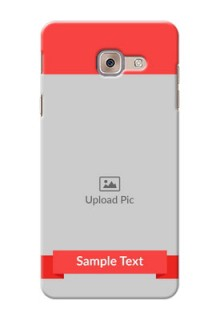 Samsung Galaxy J7 Max Simple Mobile Case Design