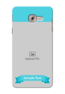 Samsung Galaxy J7 Max Simple Mobile Back Cover Design