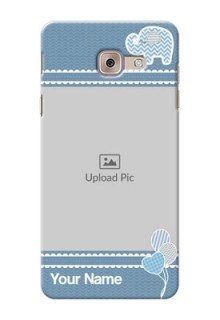 Samsung Galaxy J7 Max kids design icons with  simple pattern Design Design