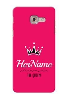 Galaxy J7 Max Queen Phone Case with Name