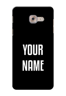 Galaxy J7 Max Your Name on Phone Case