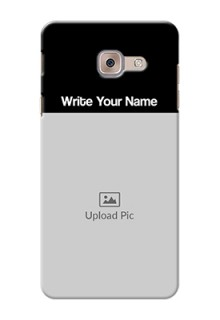 Galaxy J7 Max Photo with Name on Phone Case
