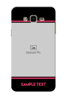 Samsung Galaxy J7 Nxt Photo With Text Mobile Case Design