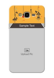 Samsung Galaxy J7 Nxt my family design with hanging icons Design Design