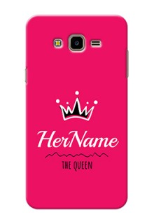Galaxy J7 Nxt Queen Phone Case with Name