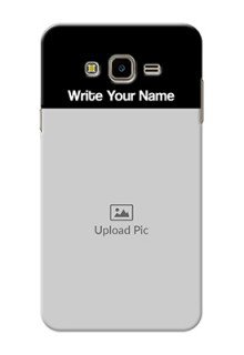 Galaxy J7 Nxt Photo with Name on Phone Case