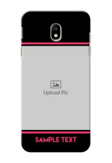 Samsung Galaxy J7 Pro Photo With Text Mobile Case Design