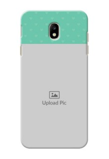 Samsung Galaxy J7 Pro Lovers Picture Upload Mobile Cover Design