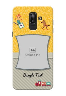 Samsung Galaxy J8 Baby Picture Upload Mobile Cover Design
