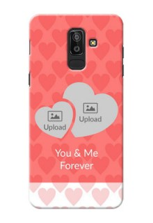 Samsung Galaxy J8 Couples Picture Upload Mobile Cover Design