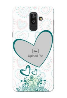 Samsung Galaxy J8 Couples Picture Upload Mobile Case Design