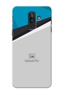 Samsung Galaxy J8 Simple Pattern Mobile Cover Upload Design