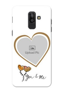 Samsung Galaxy J8 You And Me Mobile Back Case Design