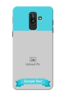 Samsung Galaxy J8 Simple Mobile Back Cover Design