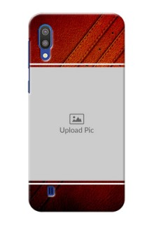 Samsung Galaxy M10 Back Covers: Leather Phone Case Design