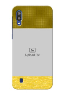 Samsung Galaxy M10 custom mobile back covers: Simple Green Color Design
