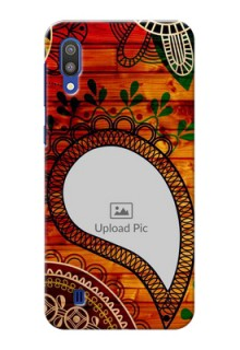 Samsung Galaxy M10 custom mobile cases: Abstract Colorful Design