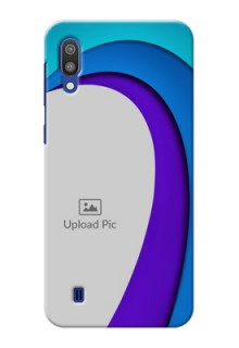 Samsung Galaxy M10 custom back covers: Simple Pattern Design