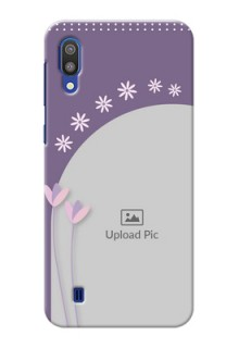 Samsung Galaxy M10 Phone covers for girls: lavender flowers design