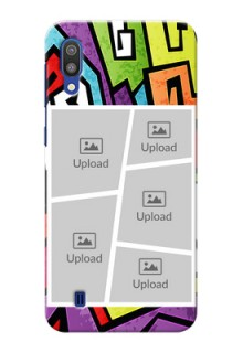 Samsung Galaxy M10 Personalized Mobile Cases: graffiti pattern Design