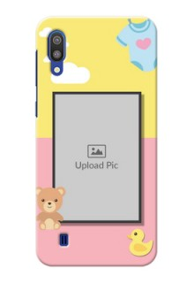 Samsung Galaxy M10 Back Covers: Kids 2 Color Design