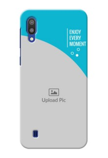 Samsung Galaxy M10 Personalized Phone Covers: Happy Moment Design