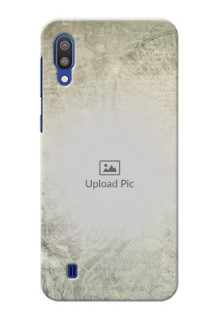Samsung Galaxy M10 custom mobile back covers with vintage design