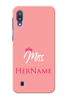 Galaxy M10 Custom Phone Case Mrs with Name
