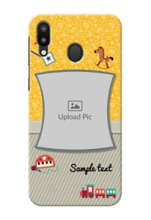 Samsung Galaxy M20 Mobile Cases Online: Baby Picture Upload Design
