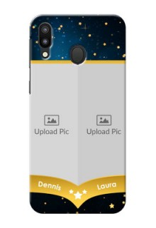 Samsung Galaxy M20 Mobile Covers Online: Galaxy Stars Backdrop Design