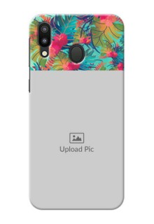 Samsung Galaxy M20 Personalized Phone Cases: Watercolor Floral Design
