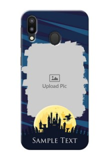 Samsung Galaxy M20 Back Covers: Halloween Witch Design