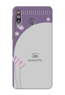 Galaxy M30Phone covers for girls: lavender flowers design