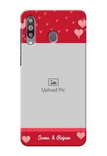 Galaxy M30Mobile Back Covers: Valentines Day Design