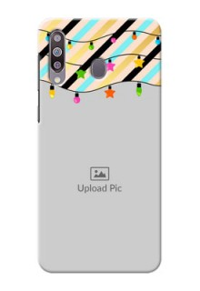 Galaxy M30Personalized Mobile Covers: Lights Hanging Design