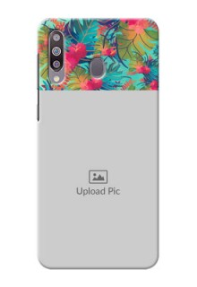 Galaxy M30Personalized Phone Cases: Watercolor Floral Design