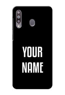 Galaxy M30 Your Name on Phone Case