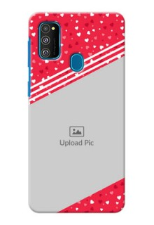 Galaxy M30s Custom Mobile Covers:  Valentines Gift Design