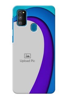 Galaxy M30s custom back covers: Simple Pattern Design