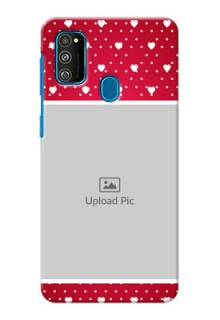 Galaxy M30s custom back covers: Hearts Mobile Case Design