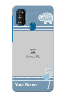Galaxy M30s Custom Phone Covers with Kids Pattern Design
